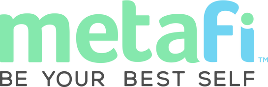 Metafi logo and link to homeapge